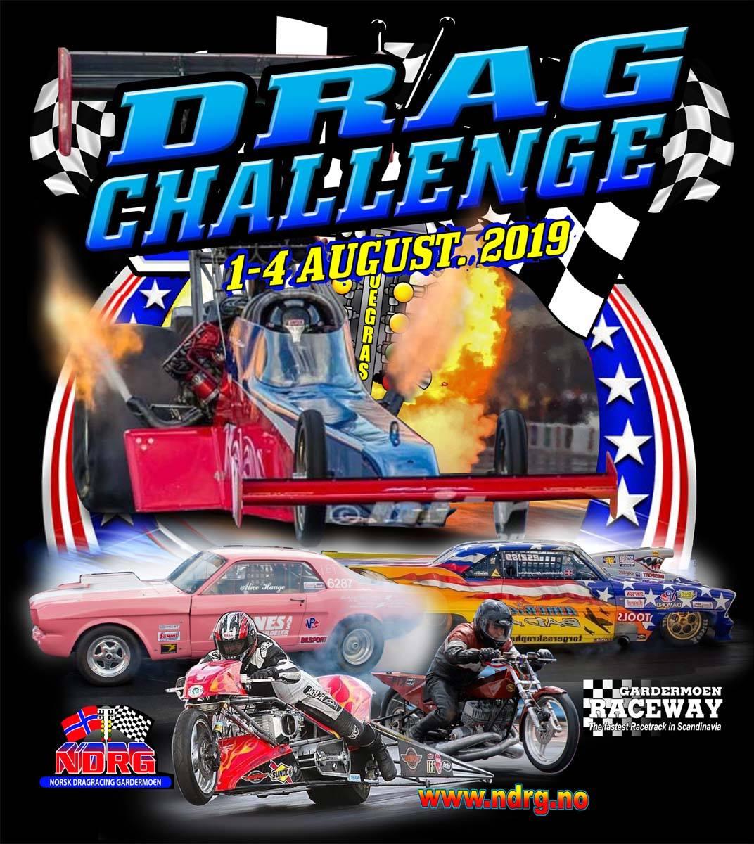 Drag Challenge 2019